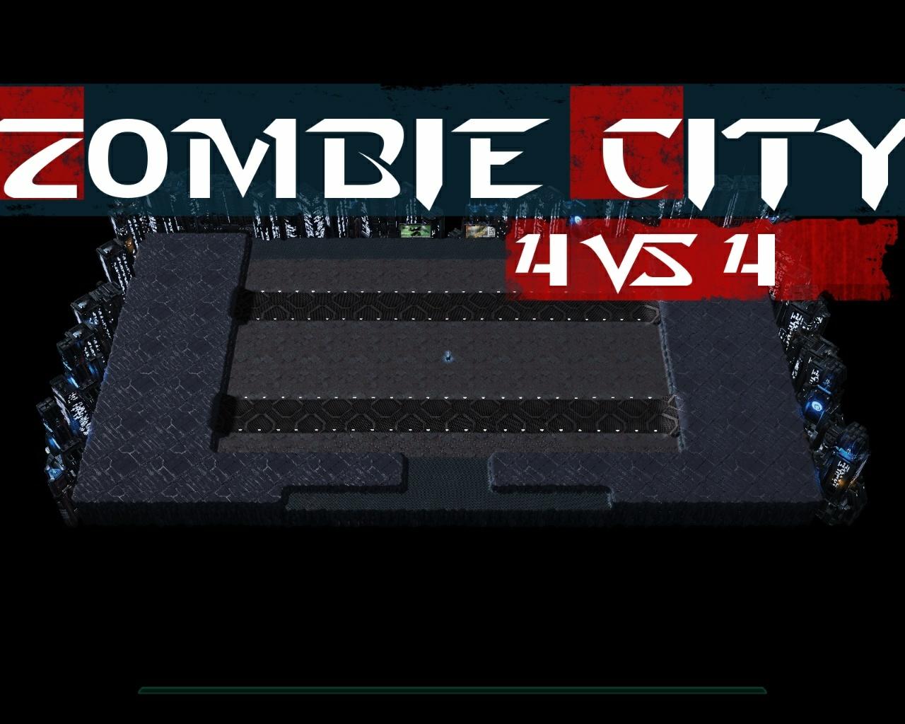 Zombie City 4 vs 4